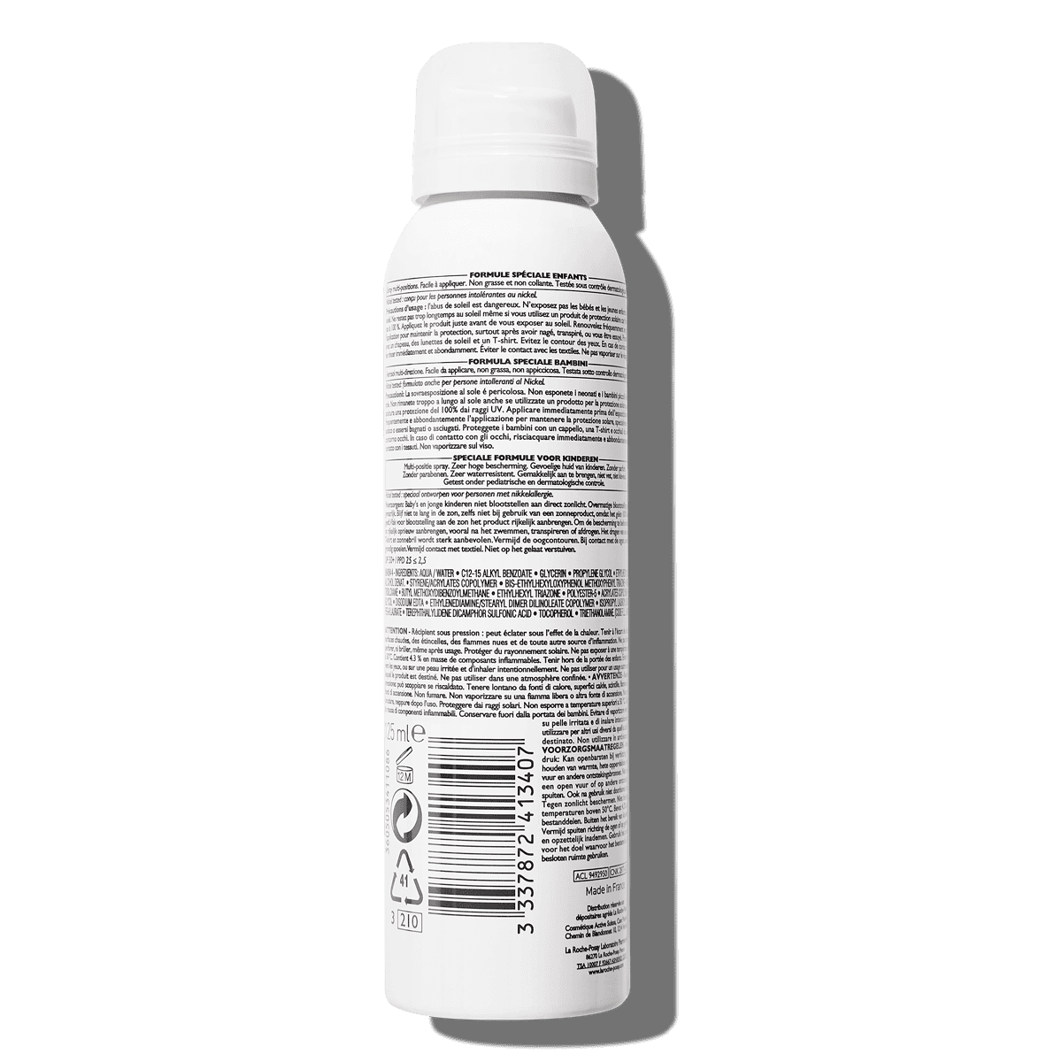 La Roche Posay ProductPage Sun Anthelios Dermo Pediatrics Spray Spf50