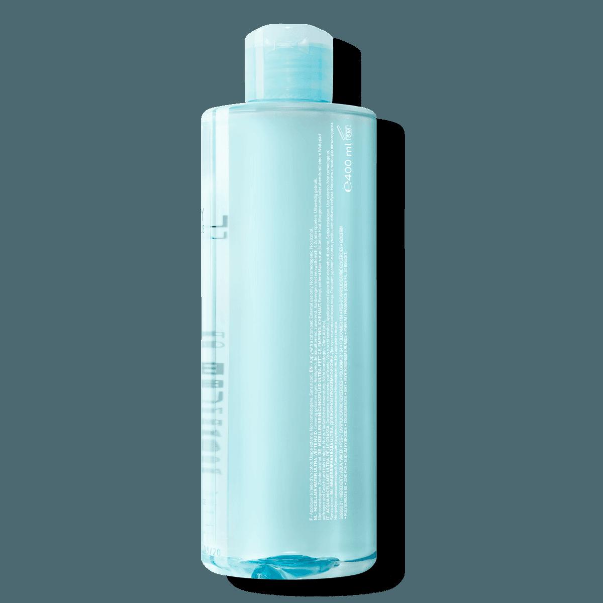La Roche Posay Face Cleanser Effaclar Micellar Water Ultra 400ml 33378