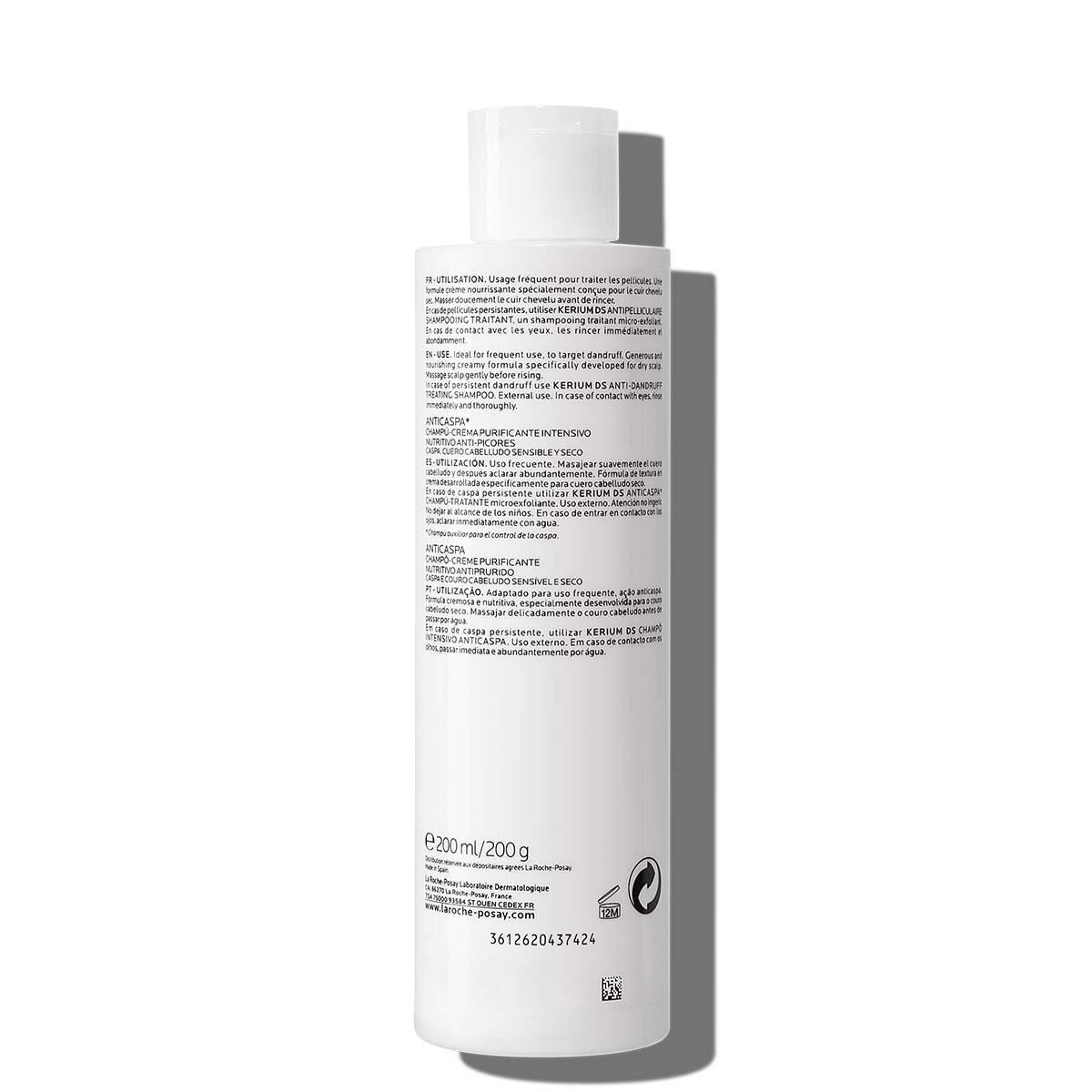La Roche Posay ProductPage Kerium Anti Dandruff Cream Shampoo 200ml 34