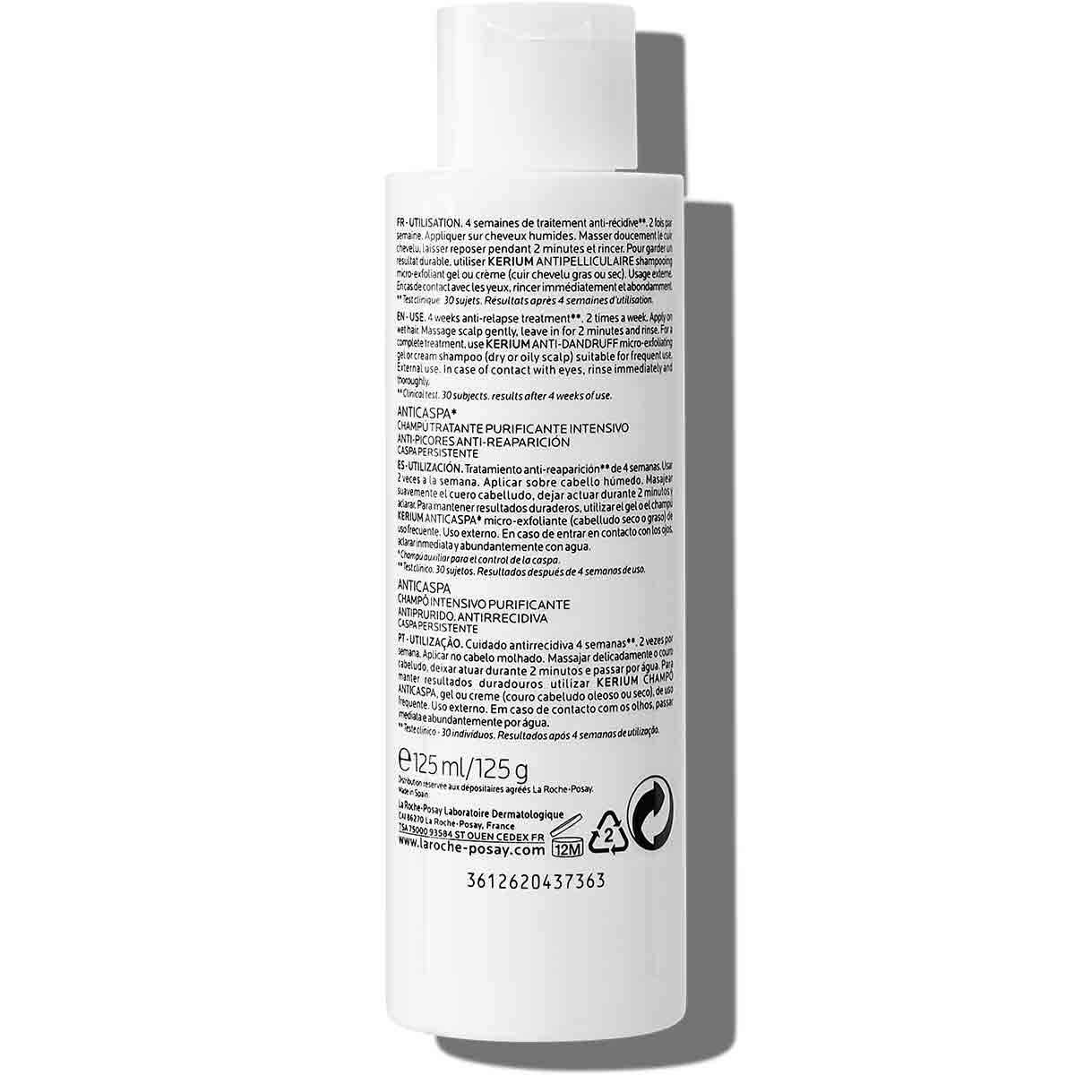 La Roche Posay ProductPage Kerium DS Anti Dandruff Treating Shampoo 12