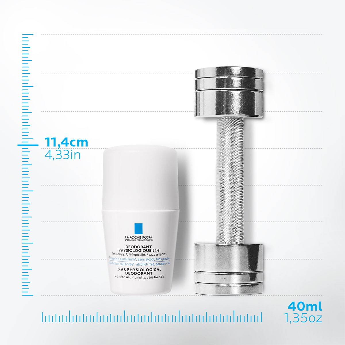 La Roche Posay ProductPage Deodorant Physiological Roll On 24h 50ml 33